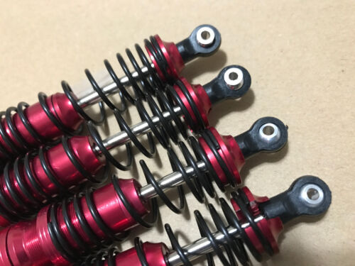 1//10 Traxxas Bandit VXL 2WD BIG BORE ALUMINUM Shock W//4mm Shaft JC033Red