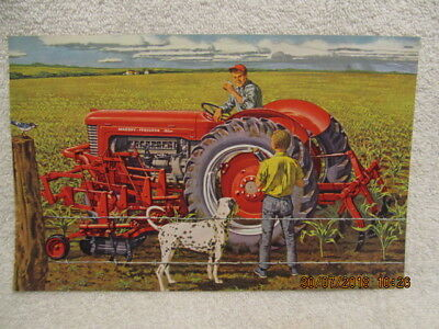 FARM TRACTOR PATCH MASSEY-HARRIS TRACTOR FARMER LAND RANCHER LOOK AND BUY NOW