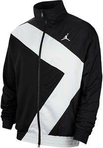 NWT-Nike-Jordan-Wings-Diamond-Jacket-retro-Black-White-Mens-ci7915-010-MSRP-125
