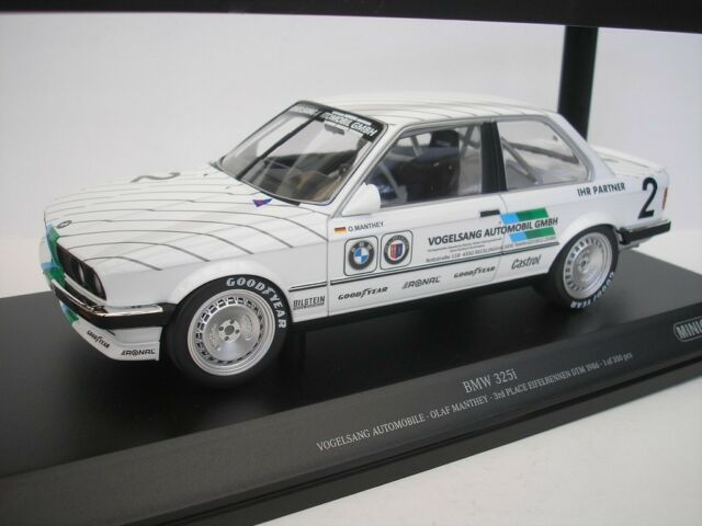 Bmw 325i 2 Eifelrennen Dtm 1986 Olaf Manthey 118 Minichamps