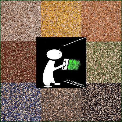 5kg Buntsteinputz  Mosaikputz  Braun Mix  verschiedene Mischungen