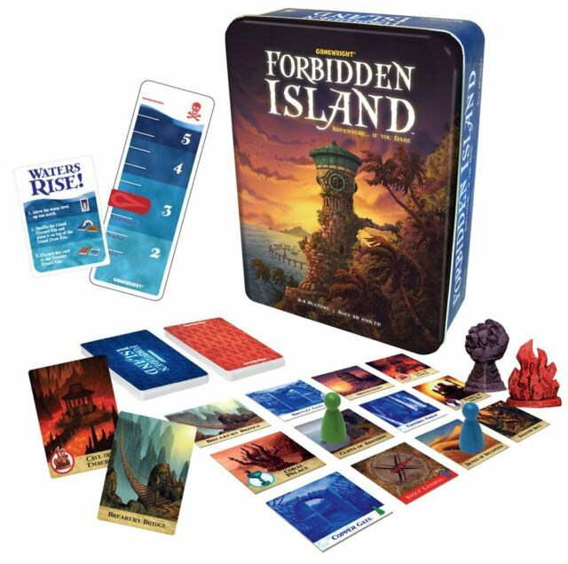 Forbidden Island Board Game by Gamewright.  New!