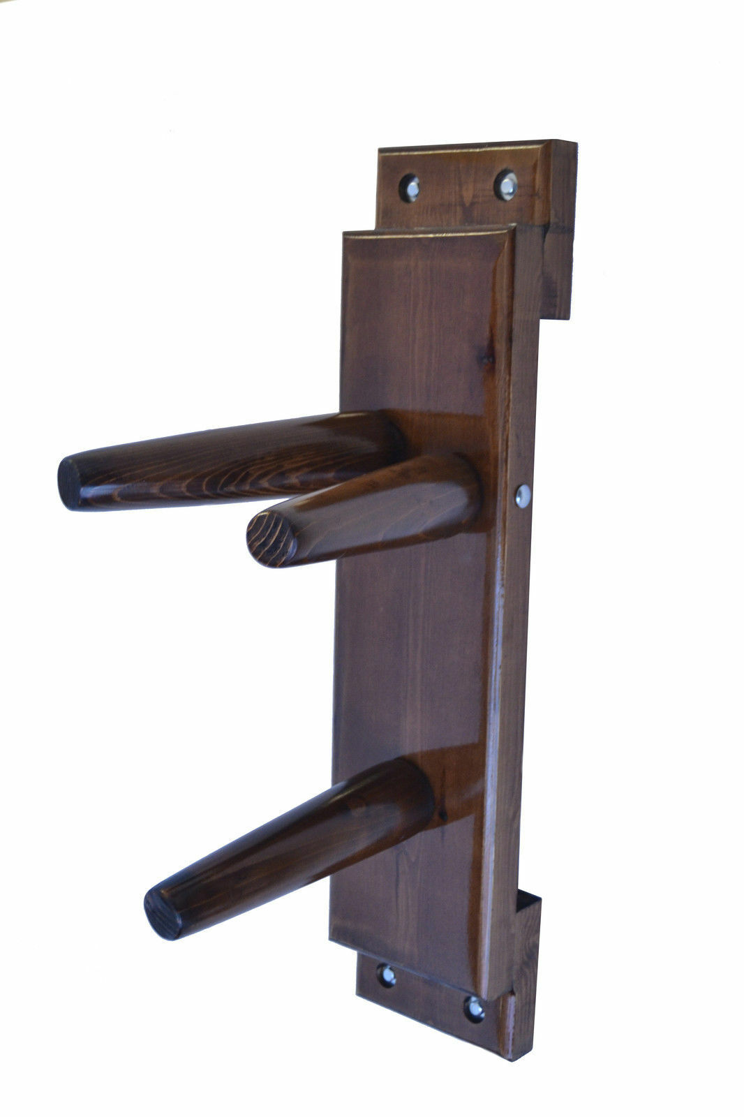 Wing Chun Wooden Dummy Plane Walnut Farbe