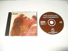 Jackie Gleason - Music To Remember Her (2001) CD - UK FREE POST