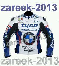 BMW tyco motorbike motoGp leather racing jacket all size