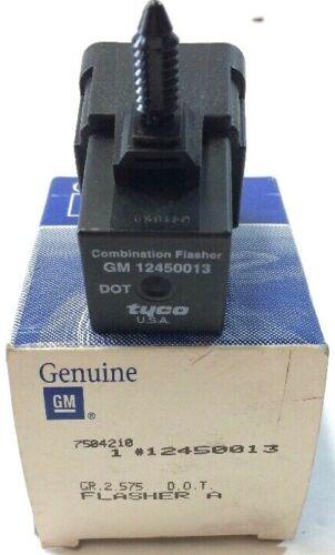 Genuine GM Hazard Lamp Flasher Relay New 12450013