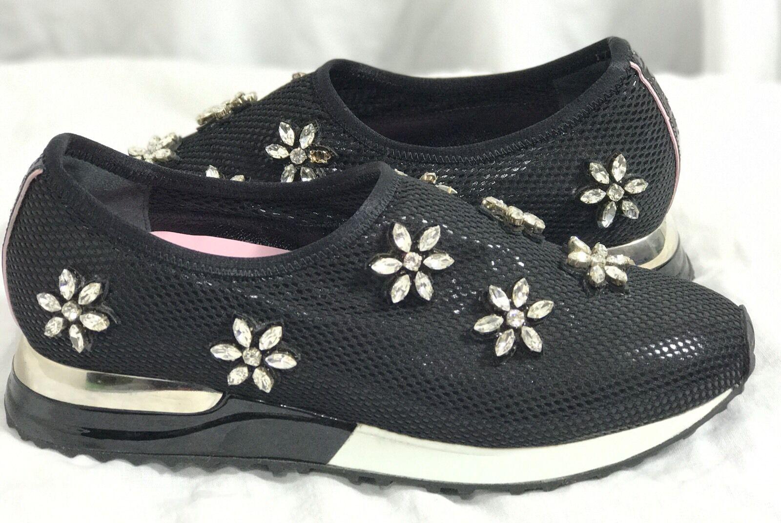 POLETTO Women's  ⭐️⭐️Swarovski Crystal ⭐️⭐️  Sneakers  Size 38 8