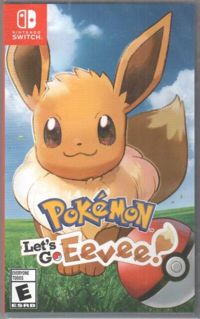 *Sealed* Pokemon Let's Go Eevee (Nintendo Switch Game) BRAND NEW Factory sealed