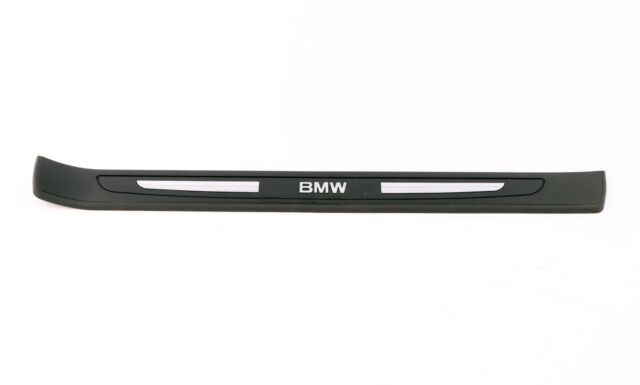 BMW 7 Series E65 E66 Cover Strip Entrance Interior Black Schwarz Right O/S