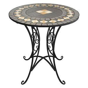 Runder-Mosaiktisch-70xH72cm-Mosaik-Gartentisch-Beistelltisch-Balkontisch
