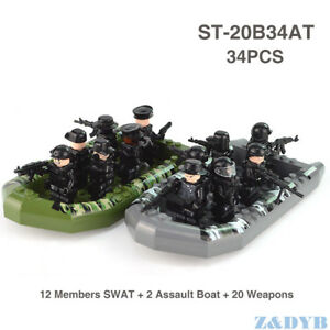 Brand-New-Lego-Moc-Special-Ops-SWAT-Minifigure-Team-Bundle-Pack-Kids-Gift