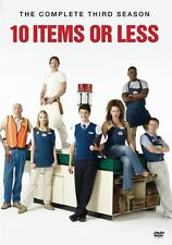 10 ITEMS OR LESS: THE COMPLETE THIRD SEASON Region Free DVD - Sealed