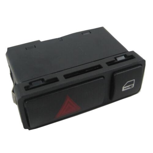 New Hazard Warning Door Central Lock Locking Switch 61318368920 For BMW E46 E53