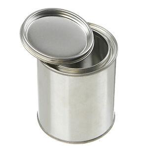 Empty Quart Paint Cans