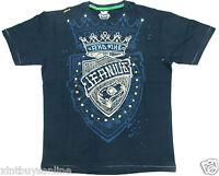 Akademiks T Shirt Jeanius Akdmks Blue Akademiks 100% Cotton Akademiks