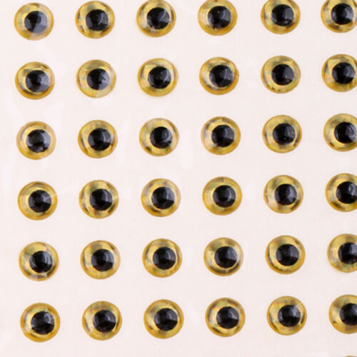 Lot 300Pcs 3mm 3D Holographic Fishing Lure Eyes Fly Tying Replacment Eyes