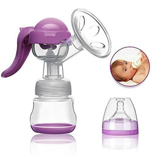 Easy Hand Pump Breastfeeding Milk Collector Q Manual Breastfeeding Pump