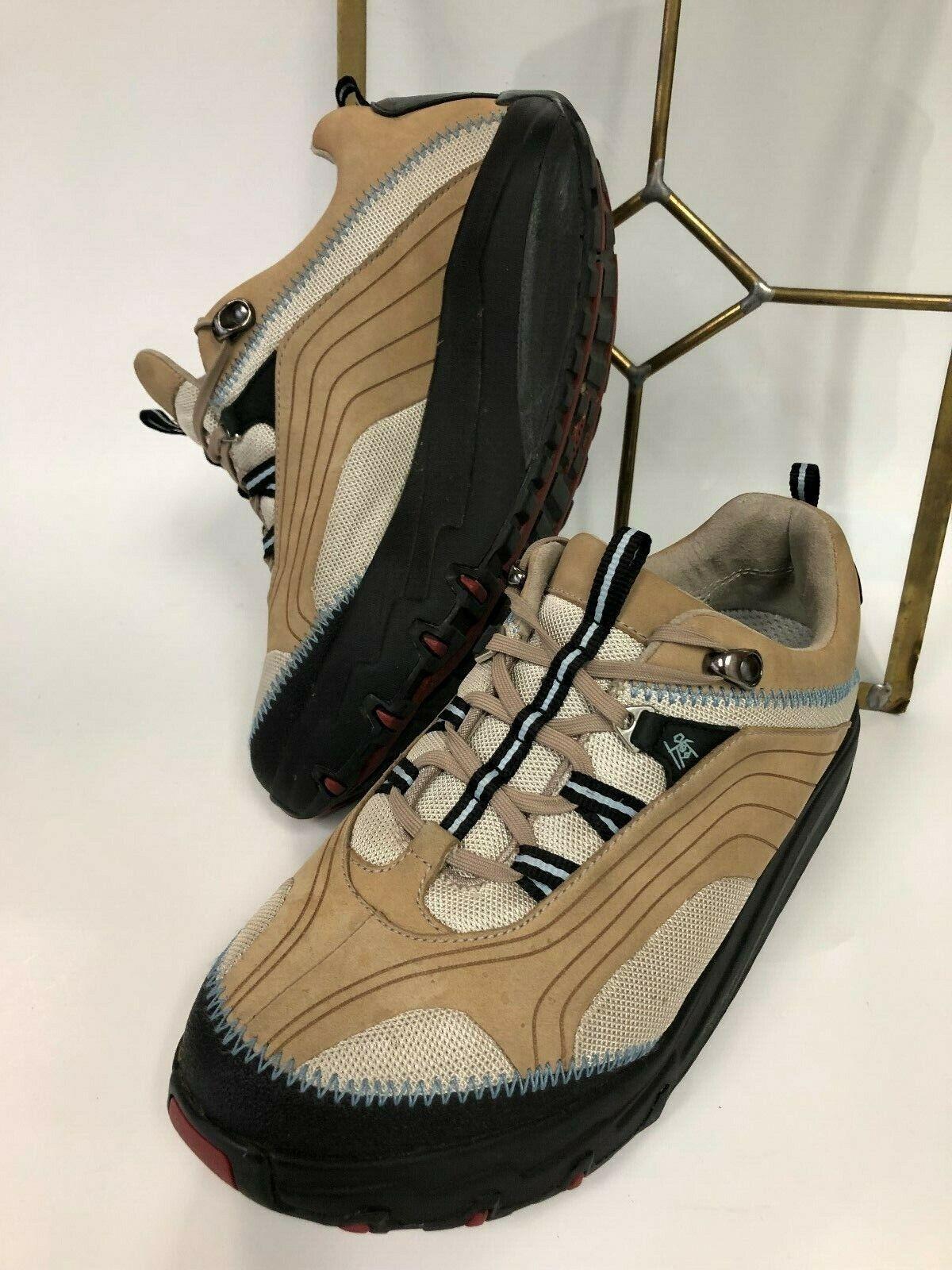 MBT Chapa Tan Gore Tex Womens 9M Fitness Tone Athletic shoes GUC