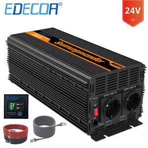 EDECOA-Convertisseur-24V-220V-3000W-6000W-Onduleur-Transformateur-telecommande