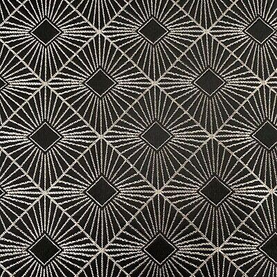 ON SALE Black Silk /& Cotton Imported. 140 cm Wide