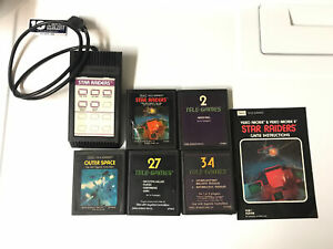 Atari 2600 Sears Tele Games Star Raiders Missile Command Basketball Outer Space