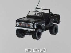 Image Is Loading Custom 1970 Ford Bronco 4x4 Truck Christmas Ornament