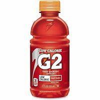 Gatorade G2 Fruit Punch Sports Drink 12oz. 24/ct Rd 12202 on sale