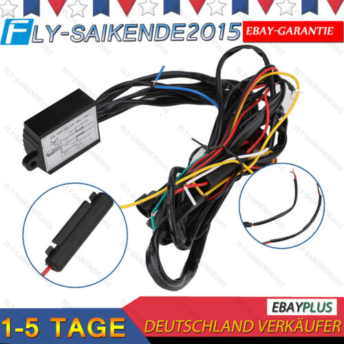 50/% Dimmung Steuergerät Mini /& Coming Home LED TFL Tagfahrlicht R87 Modul NEU!