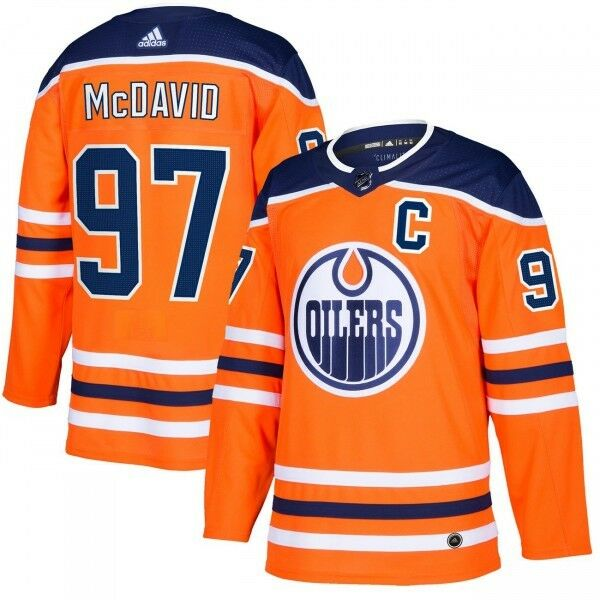 Connor Mcdavid  97 Edmonton Oilers Autentico pro NHL Maglia per Partite in Casa
