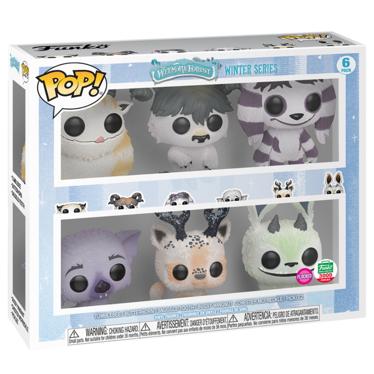 Funko Pop 6-Pack Wetmore Forest Winter Series 21549 Flocked 3000 Pieces