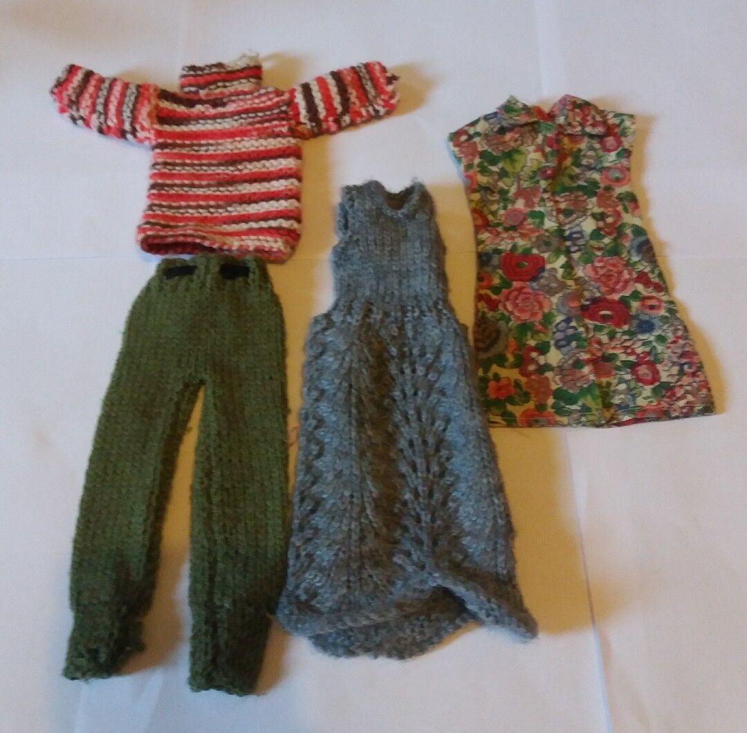 Vintage Muñeca Sindy casero casero casero de punto Jersey Pantalones de vestir ropa 70s 80s bfe449