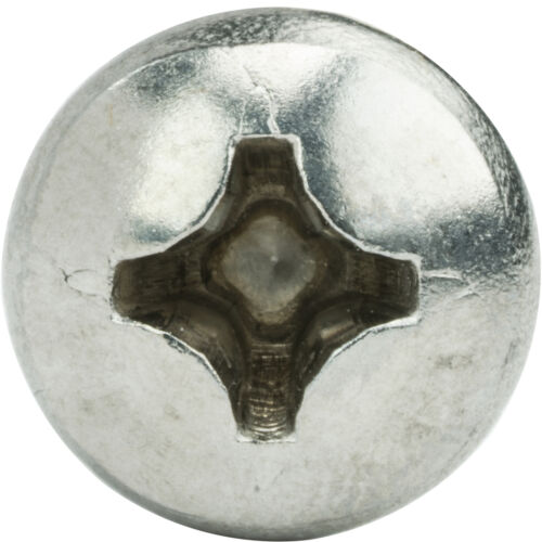 "#4 x 3//4/"" Sheet Metal Screws Self Tapping Pan Head Stainless Steel Qty 2500"