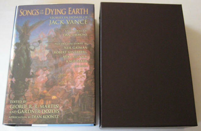 George R.R. Martin SONGS OF DYING EARTH: N HONOR OF JACK VANCE SIGNED 1st LTD
