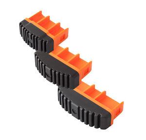 Paar 77x25 mm orange KRAUSE MONTO Fußstopfen 211163