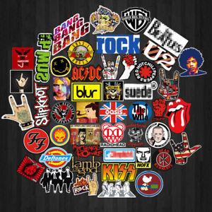 52-stuecke-Retro-Rock-Band-Musik-Aufkleber-Fuer-Gitarre-Koffer-Skateboard-DIY