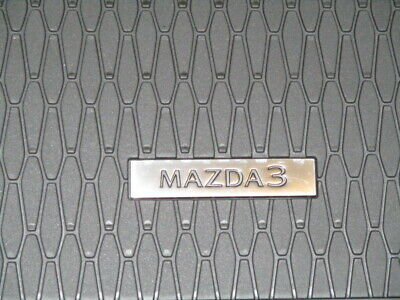 KUST 2020 Upgrade Non-Slip Floor Mats for Mazda 3 2019-2021 All Weather Floor Liner for 2020 Mazda3 1st /& 2nd Row Odorless