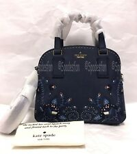e654eb037 Kate Spade Pxru9125 out West Stud Small Lottie Bag Purse Blazer Blue Navy