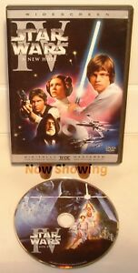 Star-Wars-Episode-IV-4-A-New-Hope-1-Widescreen-Dvd-No-Fakes-Here