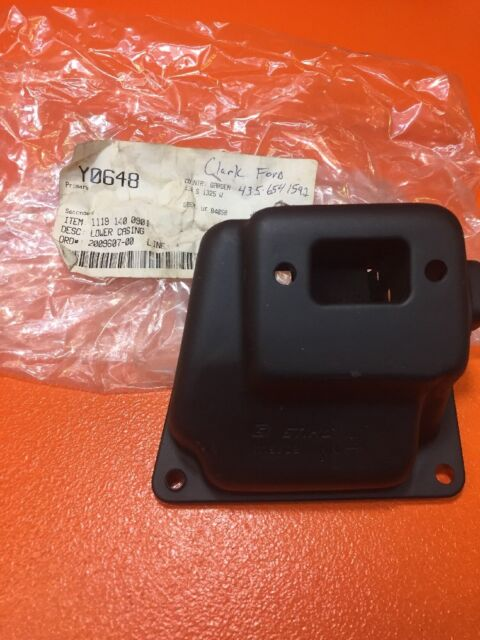 GENUINE STIHL 038 MUFFLER LOWER CASING COVER - 1119 140 0901 - NEW OEM -B31