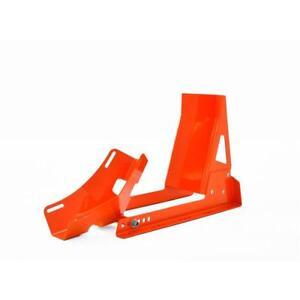 Transportwippe-Montagestaender-Vorderrad-17-034-21-034-Radhalter-Motorrad-Wippe-orange