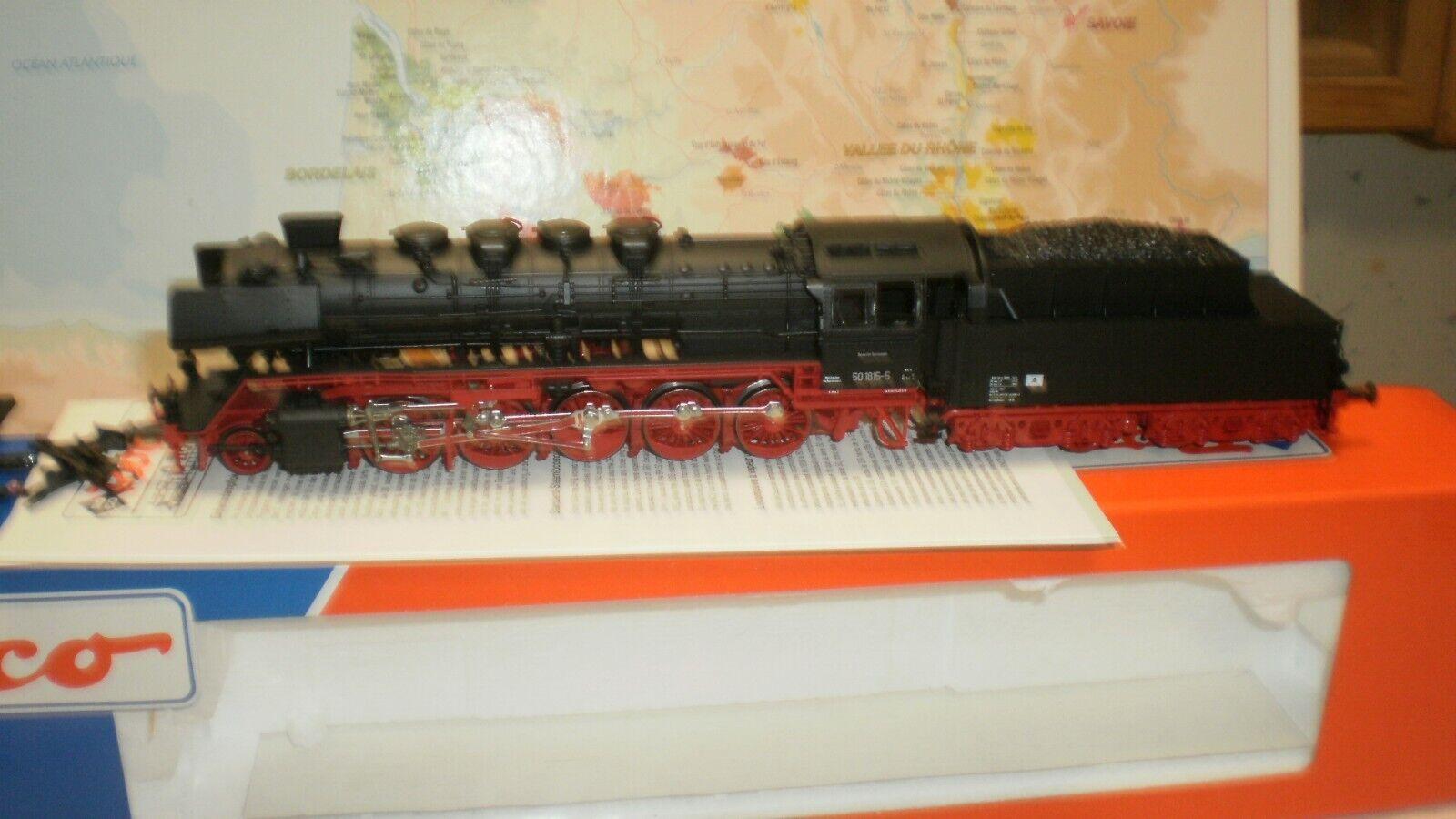Loco vapeur 50 18155 DR Roco HO