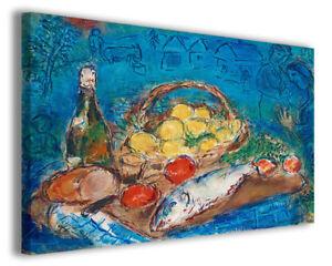 Quadri famosi moderni Marc Chagall vol X stampa su tela canvas ...