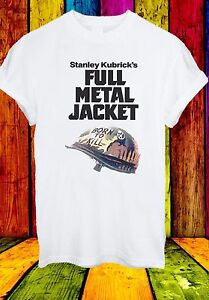 Stanley-Kubrick-039-s-Full-Metal-Jacket-Born-To-Kill-Men-Women-Unisex-T-shirt-34
