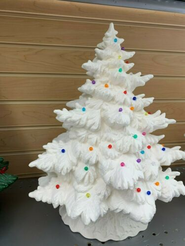 """Ceramic Bisque 17/"""" Frasier Fir  Christmas Tree Bisque Ready to Paint"""