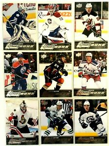 18-Card-Lot-2015-16-Upper-Deck-Young-Guns-Leafs-Oilers-Canadiens-Bruins-Flyers