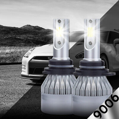 XENTEC LED HID Headlight kit 9006 White for 1987-1996 Cadillac Fleetwood