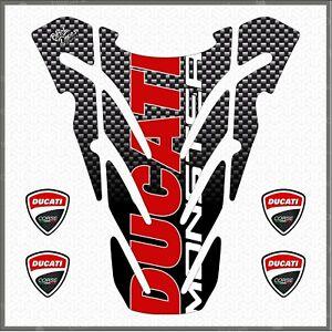 Paraserbatoio-Adesivo-Resinato-compatibile-Ducati-MONSTER-696-796-1100-TANK-PAD