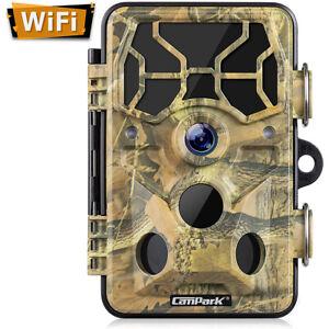 Campark-Trail-Camera-WiFi-20MP-1296P-Hunting-Game-Camera-Night-Vision-Wildlife
