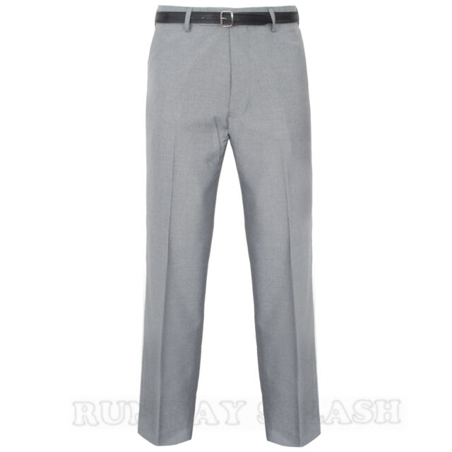 "MENS OFFICE FORMAL BUSINESS TROUSERS PANTS BIG PLUS KING SIZE 30-62"" LEG 29-31"""