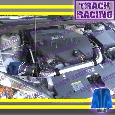 BLACK BLUE 2004-2011 CHEVY MALIBU//PONTIAC G6 3.5L//3.6L//3.9L V6 AIR INTAKE KIT S